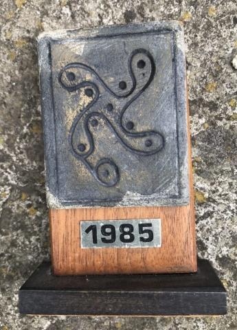 1985 Swastika Stone