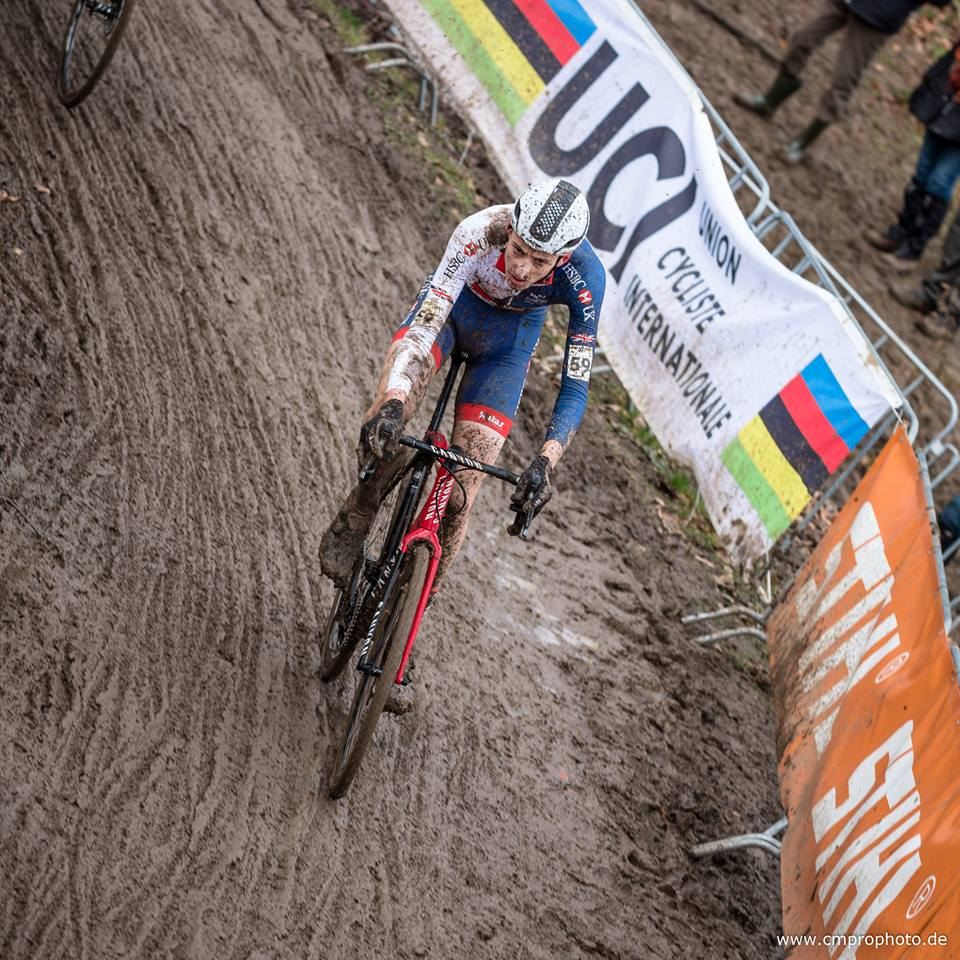Ben Turner at the World Championships. Photo Cmprophoto